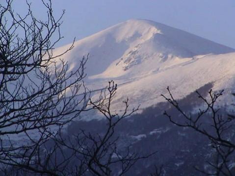 SAN LORENZO...la cumbre más alta del antigüo reino de Castilla...en un abril de 2002